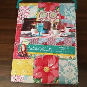 """The Pioneer Woman Tablecloth  Patchwork  60"""" x 84"""""""